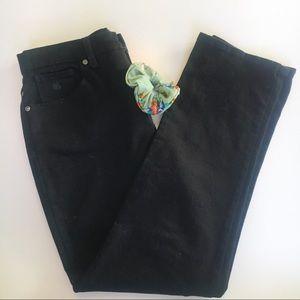 Gloria Vanderbilt black denim pants.